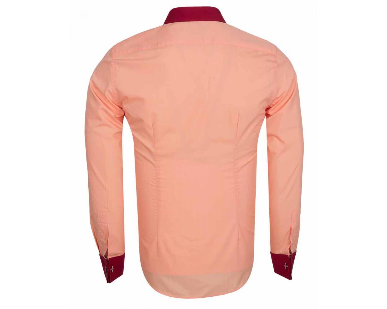 c4f5e434f6c SL 5751 Рубашка с манжетами под запонки - Рубашки на все случаи жизни